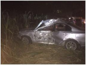Fallece agente de la Policía en accidente de tránsito en Santiago Rodríguez