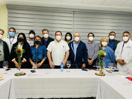 El ministro de SP y el director de SNS recorren varias áreas del Hospital Cabral y Báez