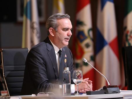 Abinader Cumbre Iberoamericana: Urge modelo de desarrollo con distribución más justa de la riqueza
