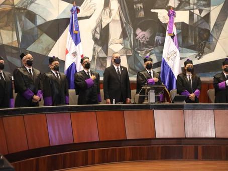 Presidente asiste Audiencia Solemne por el Día del Poder Judicial