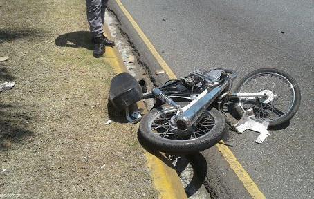 Muere motorista durante accidente de tránsito en comunidad de Dajabón