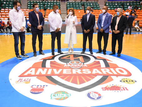 Con la Presencia de la vicepresidenta de la República inicia por Todo lo Alto Torneo 41 Basket Super