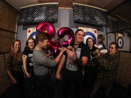 Axe Throwing Birthday: Party Like A Viking