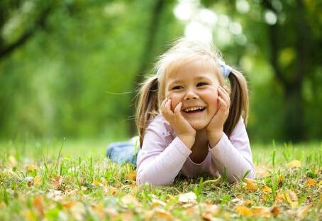 Beneficios de la naturaleza para los niños.