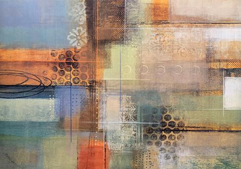 JOEL HOLSINGER, CAPSTONE ART 2 60X90