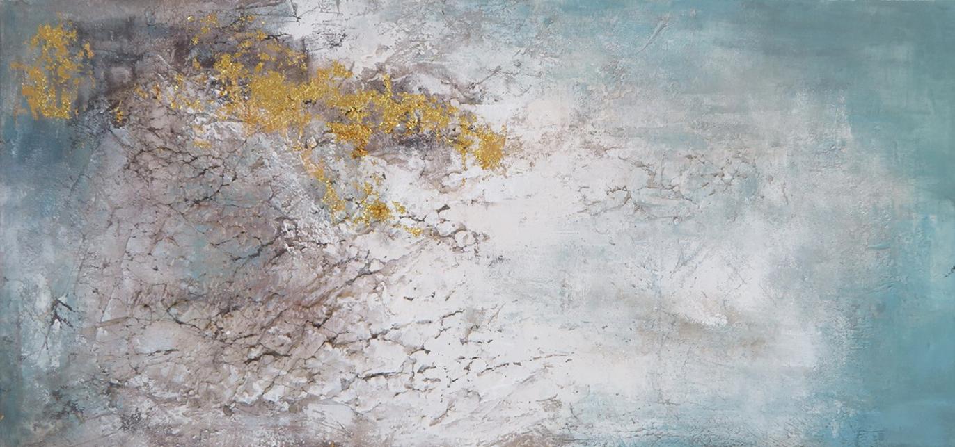 Schilderij 407831 Aqua dreams 80x180
