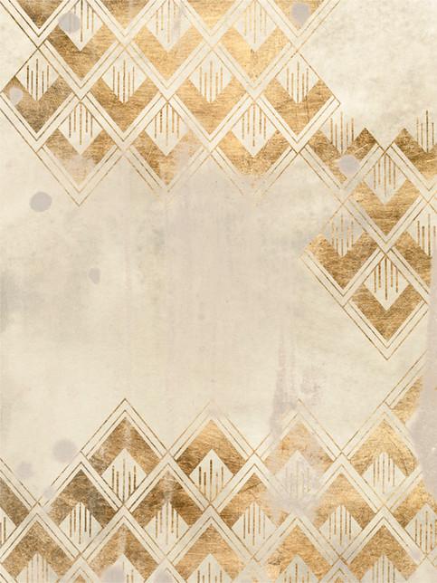 172028Z Deco Pattern in Cream III