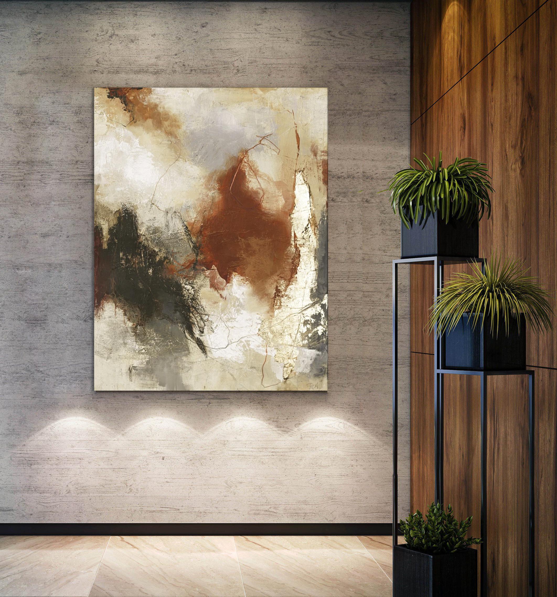 Abstract schilderij Cult 118x150cm