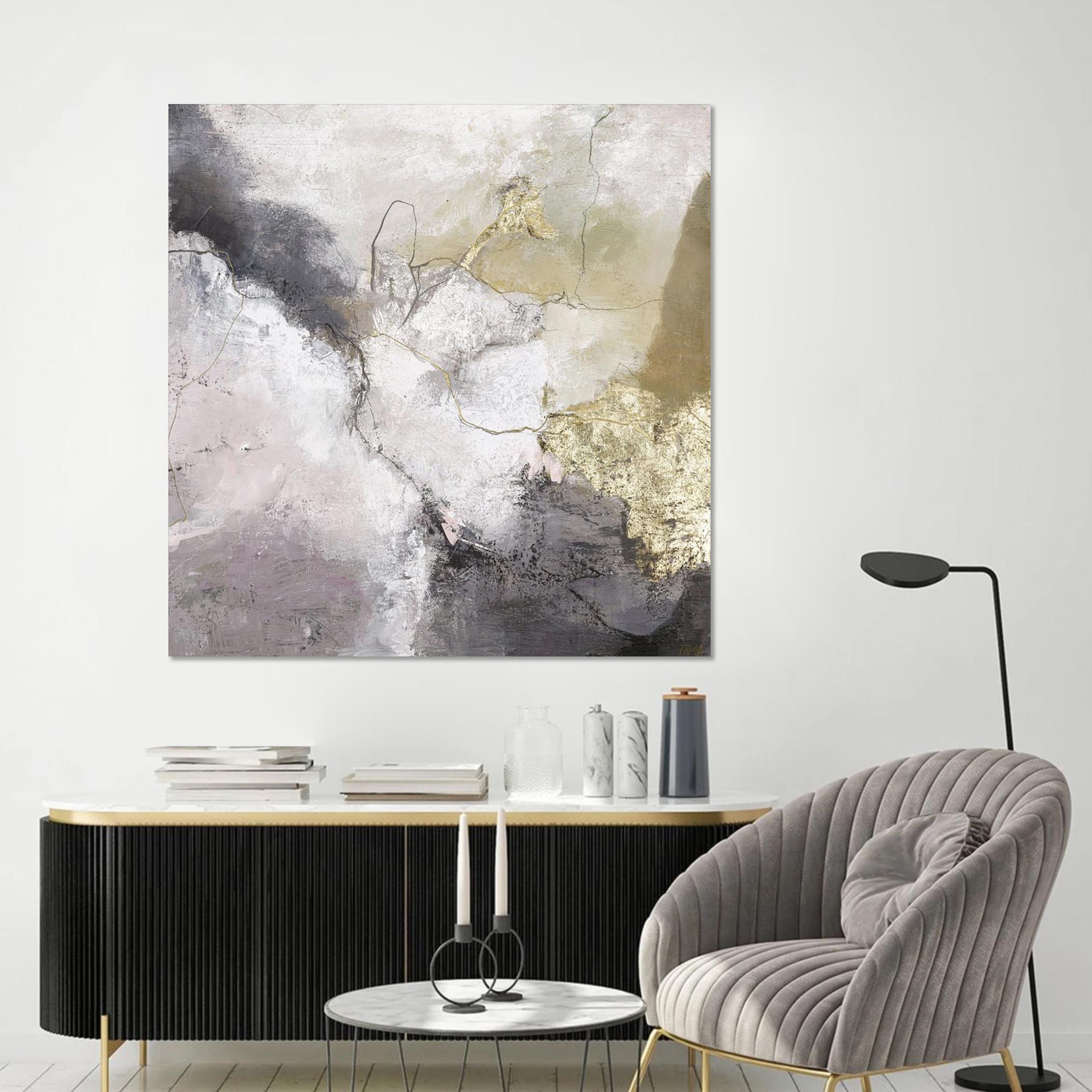Schilderij Freja Secret Life 118x118cm