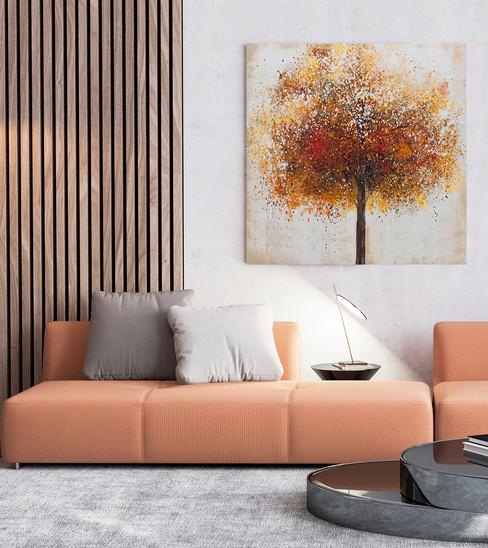 407799 Terracotta Beech 100x100