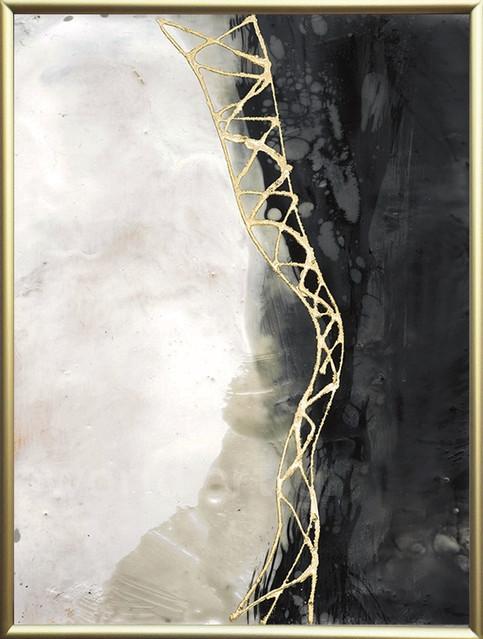 Neutral Matrix I, Jennifer Goldberger 45X60