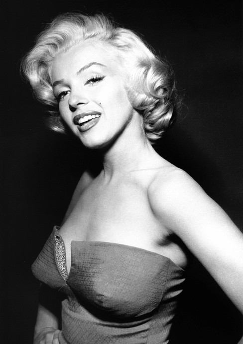 Kunstfoto op plexiglas Marilyn Monroe 2