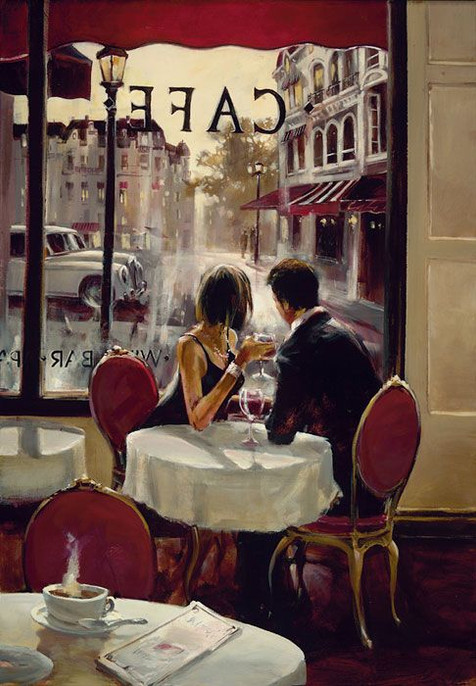 BRENT HEIGHTON, AFTER HOURS 60X80