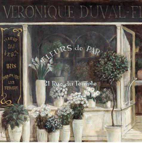 FABRICE DE VILLENEUVE, FLEUR DE DUVAL  70X70