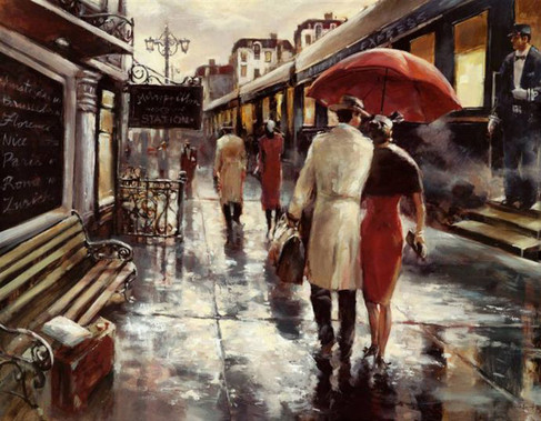 BRENT HEIGHTON, METROPOLITAN STATION 60X80
