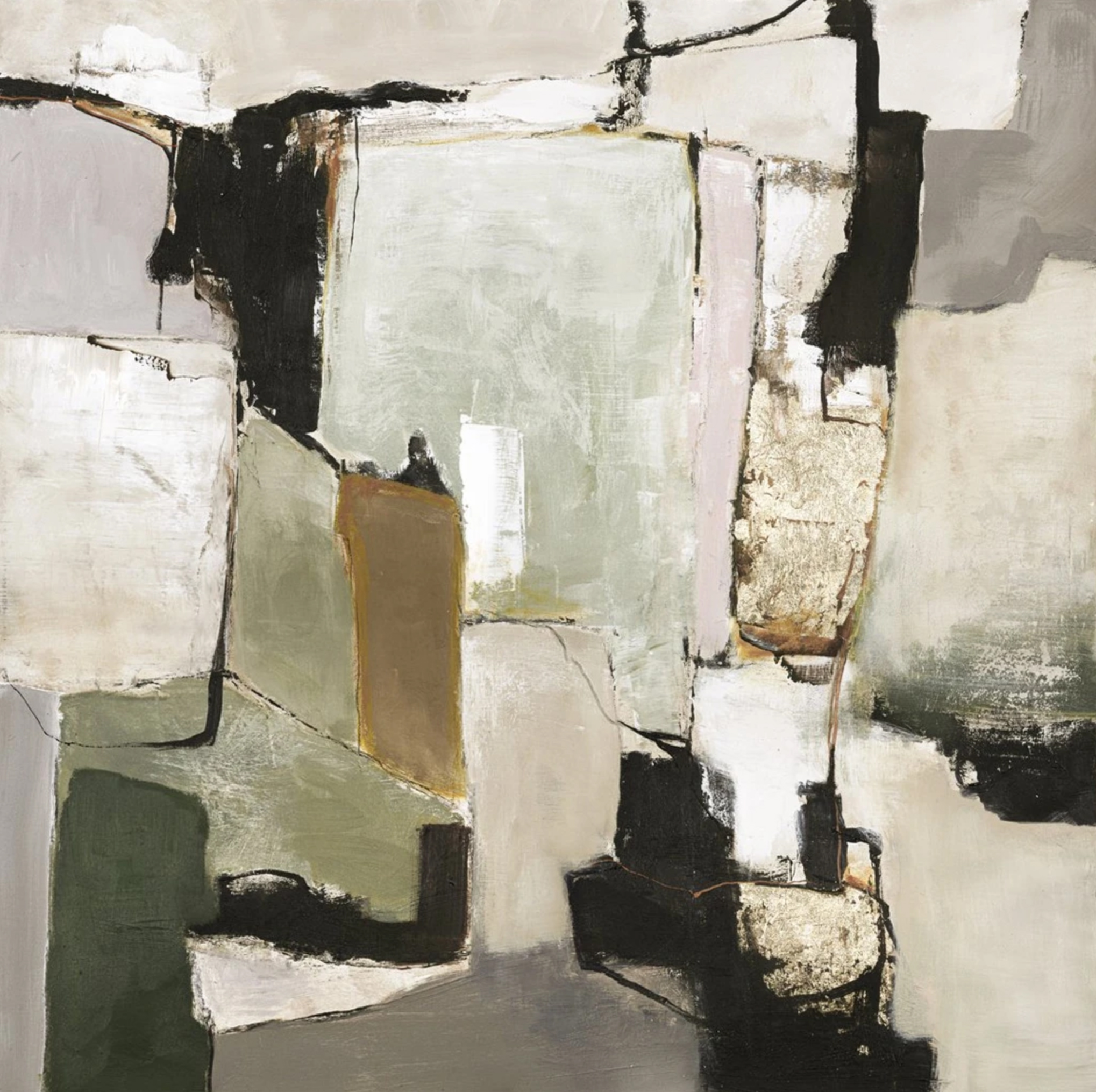 Schilderij Space´n time 118x118cm