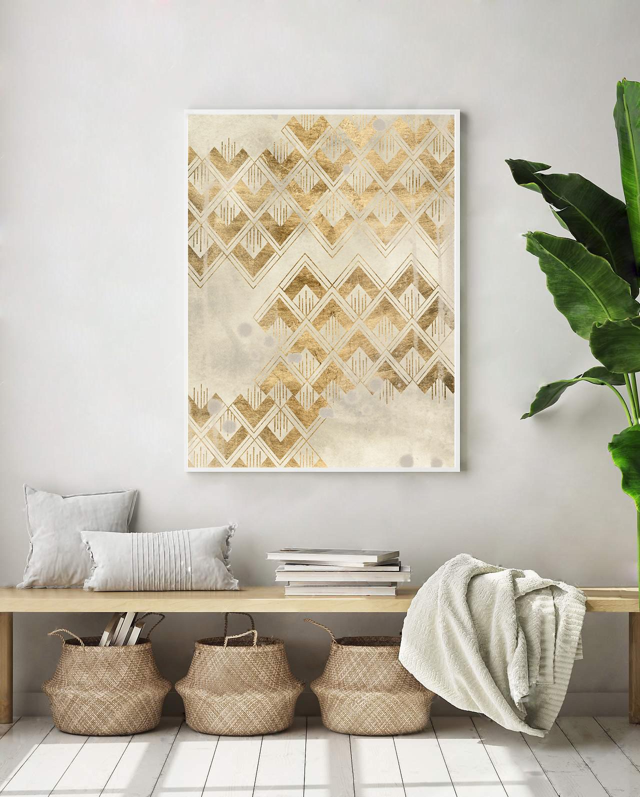 Deco Pattern in Cream