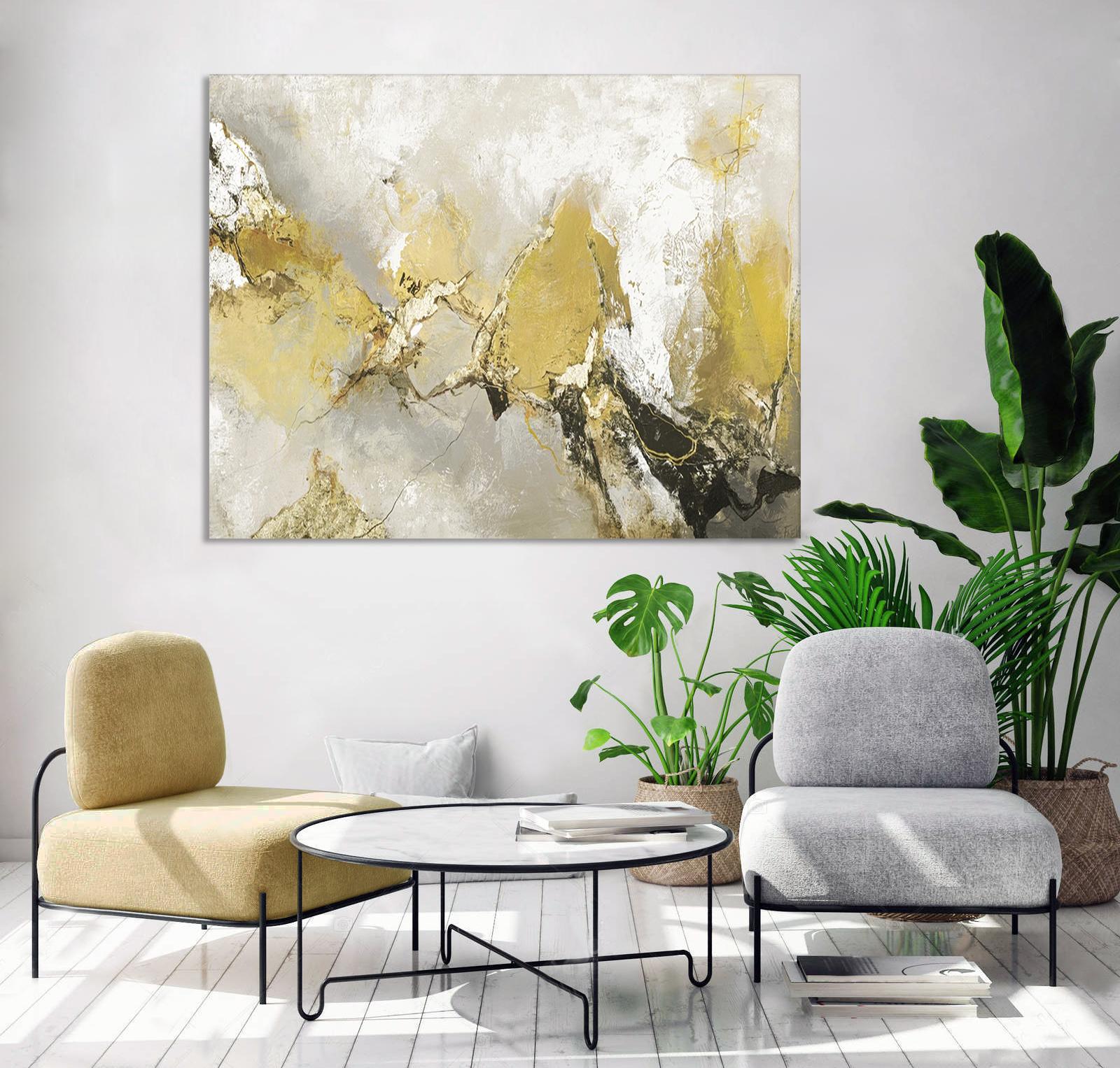 Schilderij Hurricane 118x150