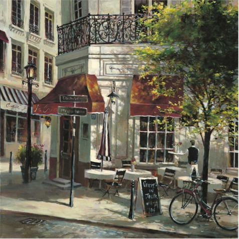 BRENT HEIGHTON, THE CREPE HOUSE 70X70