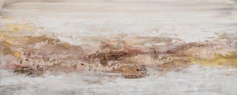Schilderij  407731 Impression of Wadi Rum 60x150