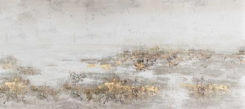Schilderij 407772 Gold Gusti's finds 80x180