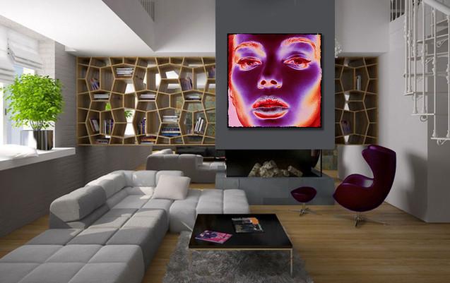 Kunstfoto op plexiglas Glam of light
