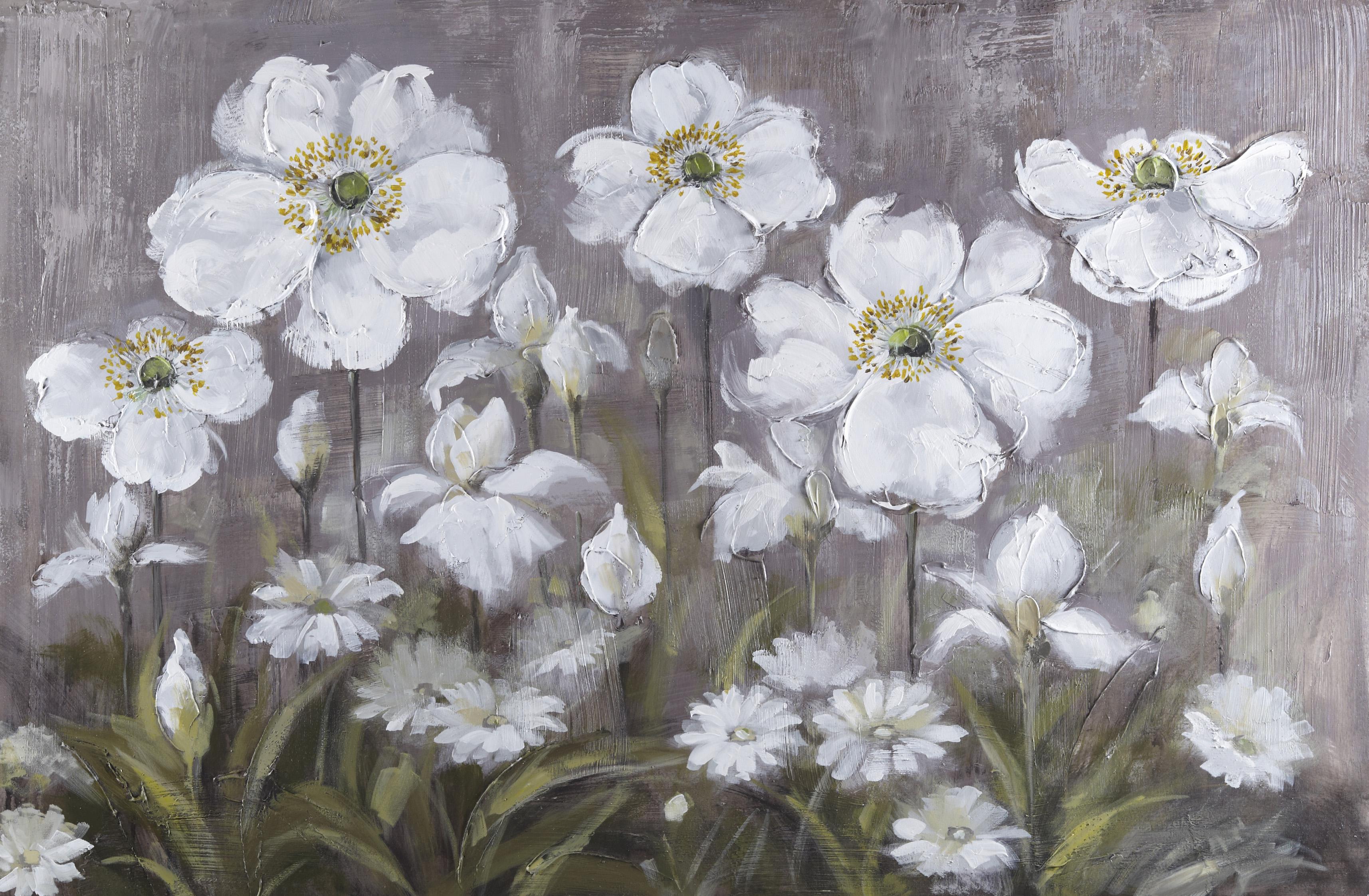Schilderij  'Dreamy Iris'
