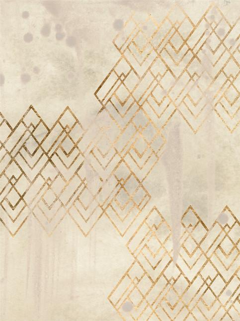 172026Z Deco Pattern in Cream I