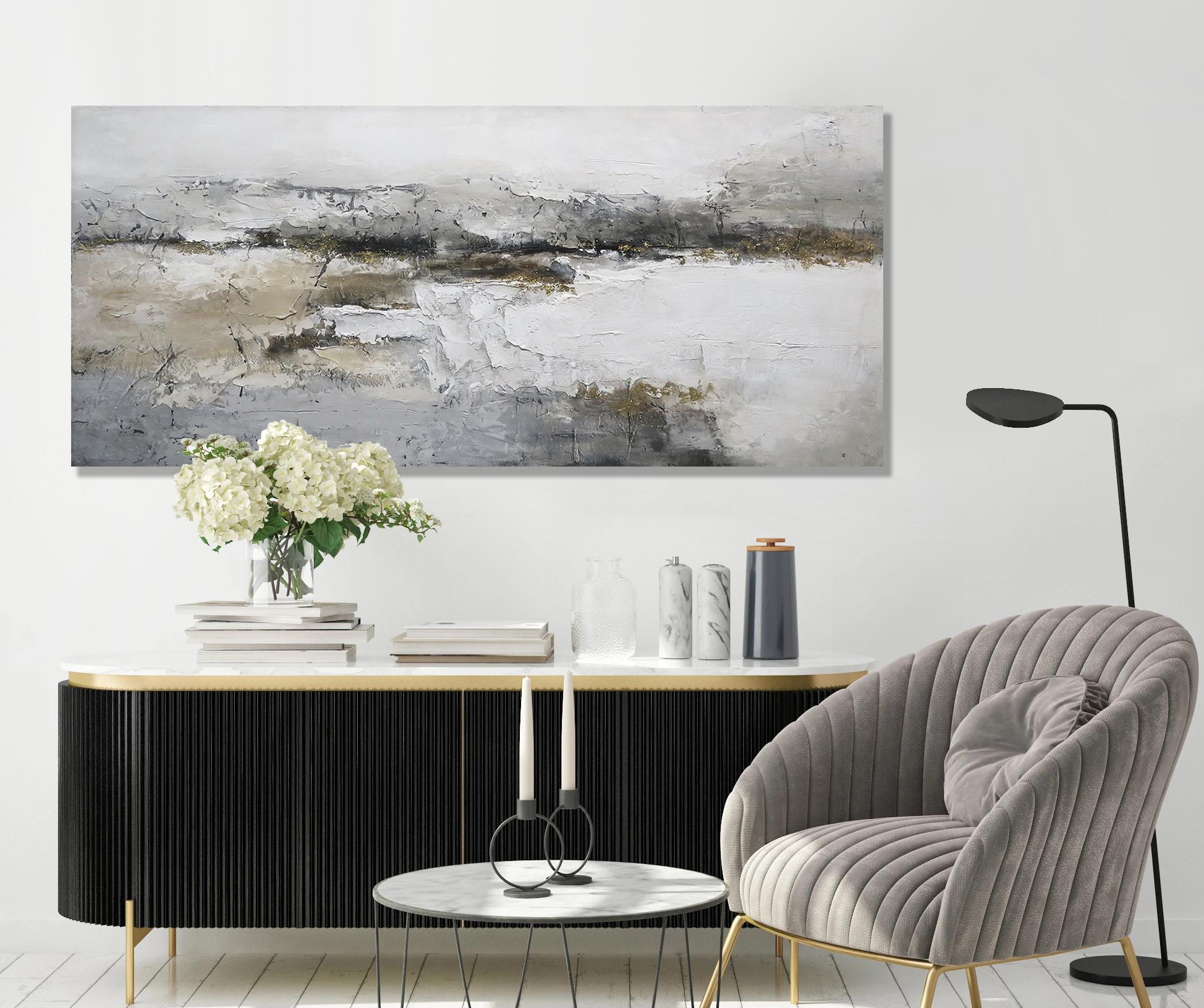 Schilderij 407834 Barrick Gold  80x180