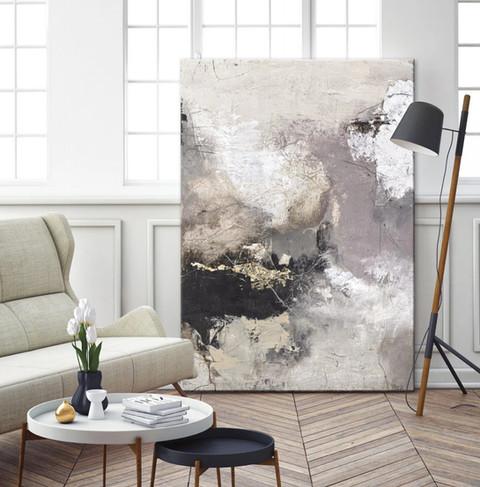 Moet je een schilderij of kader altijd aan de muur ophangen?