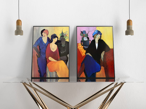 TARKAY, DUO PRINTS 60X80