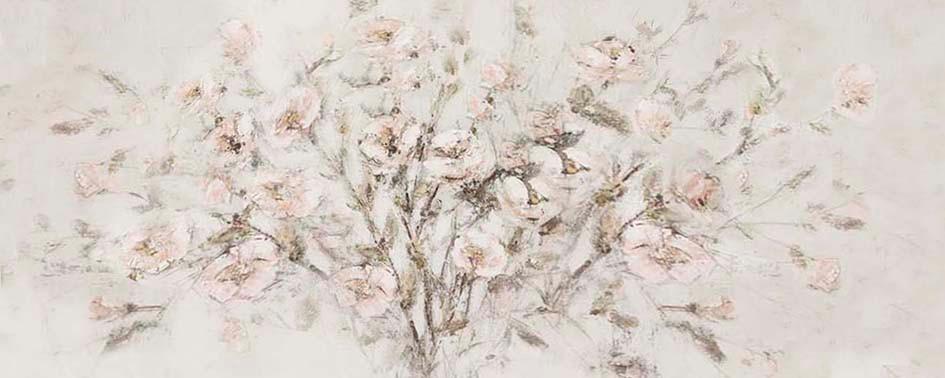 Schilderij 407787 Pink Malus domestica