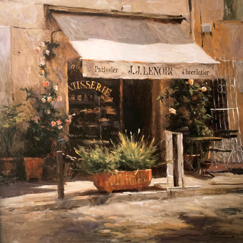 LEONARDN WREN, FRENCH PASTRY COURTESY 55X55