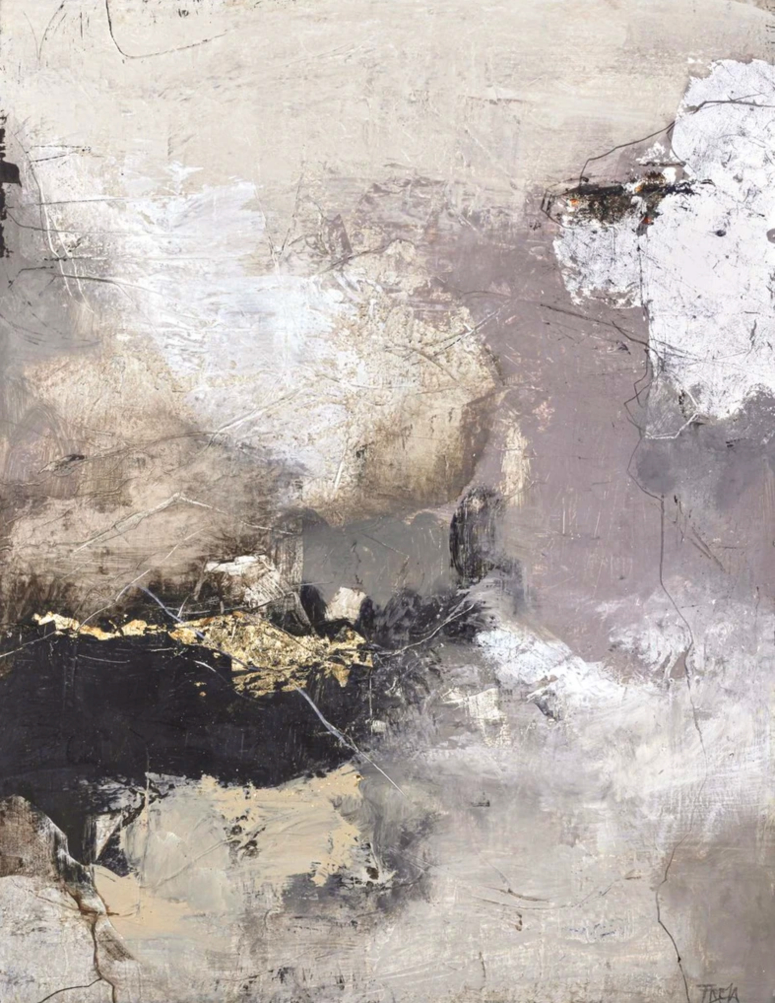 Schilderij Freja Pure 118x150