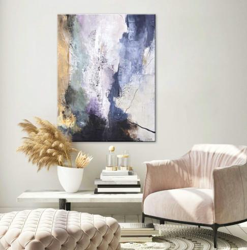 Schilderij Freja Premium 90x120