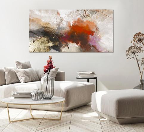 De nieuwe collectie schilderijen