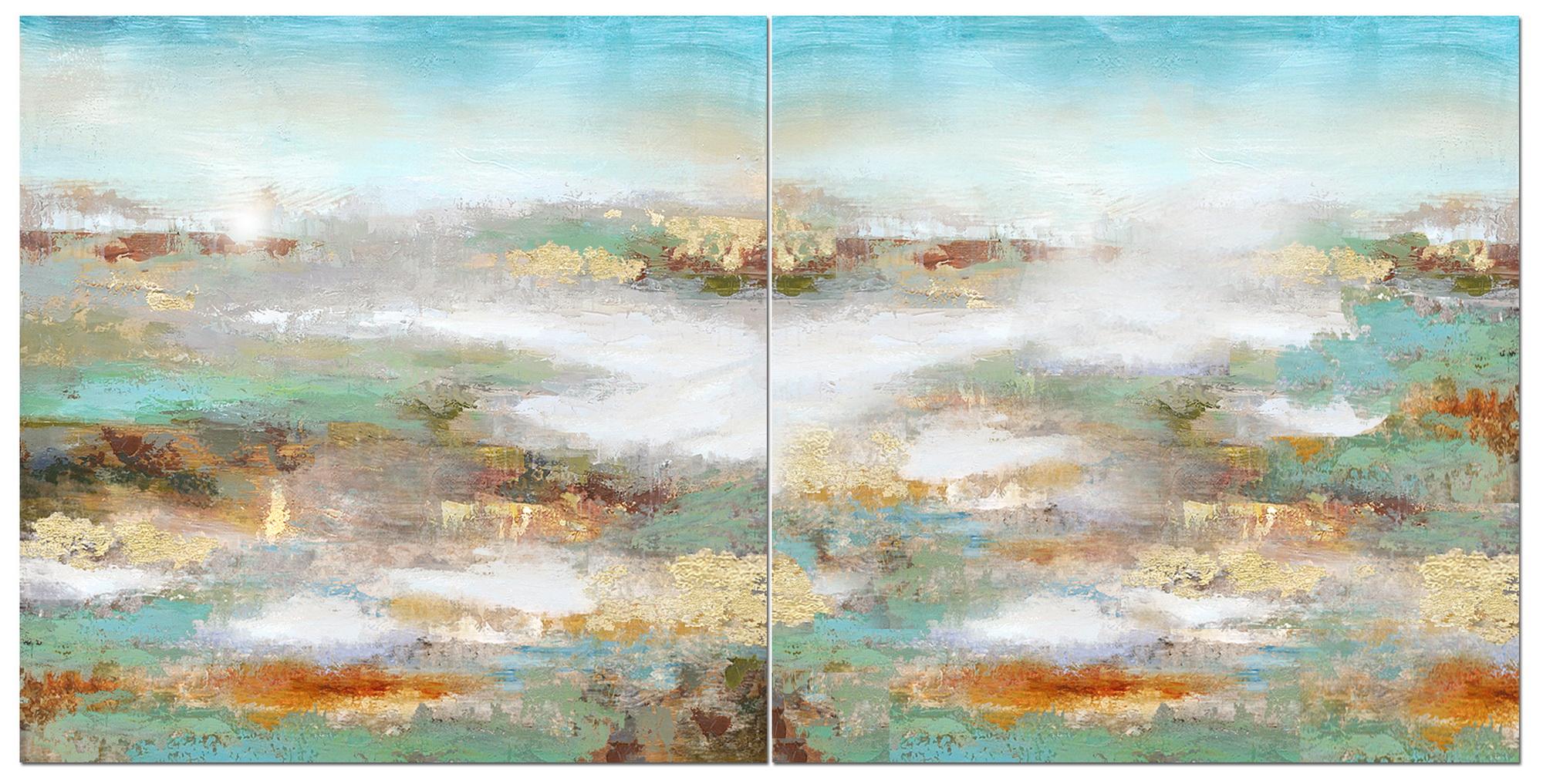 Schilderij  Tropical Horizon III