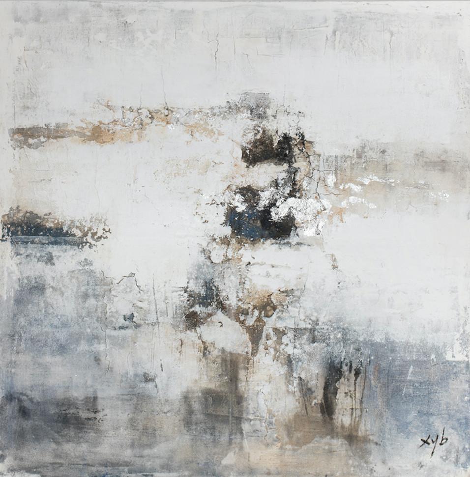 Schilderij 407776 Carrara, Arabescato 120x120