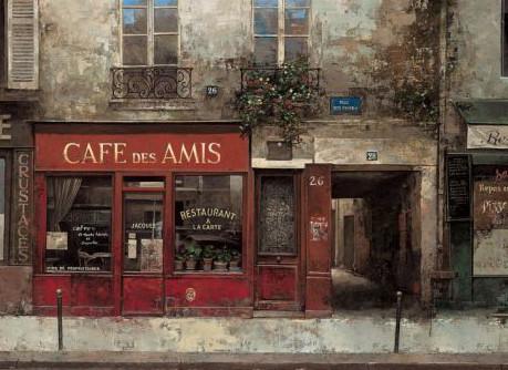 CHIU TAK HAK, CAFE DES AMIS