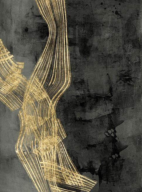 Woven Matrix II, Jennifer Goldberger 60X80 Resizable, in stock