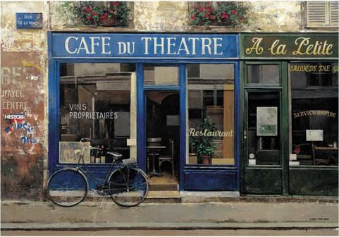 CHIU TAK HAK CAFE DU THEATRE 70x100