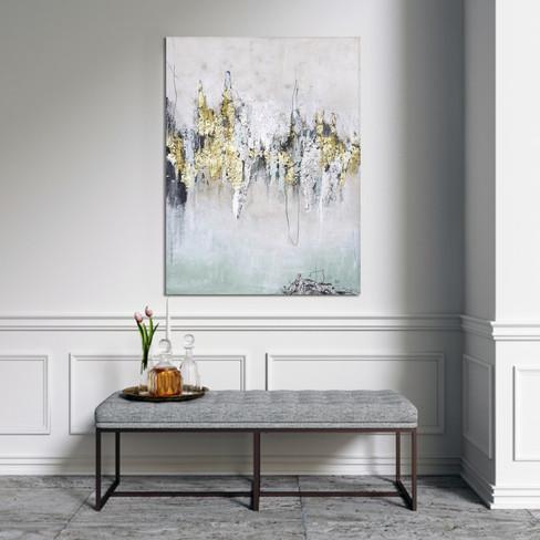Schilderij Amazing 90x120cm
