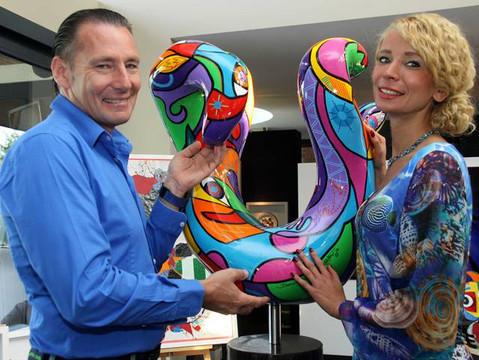 Kunstveiling tvv Kinderkankerfonds