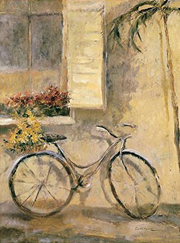 DOMINGUES COURTYARD BICYCLE 60X80