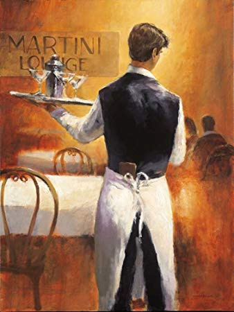BRENT HEIGHTON, MARTINI LOUNGE 60X80