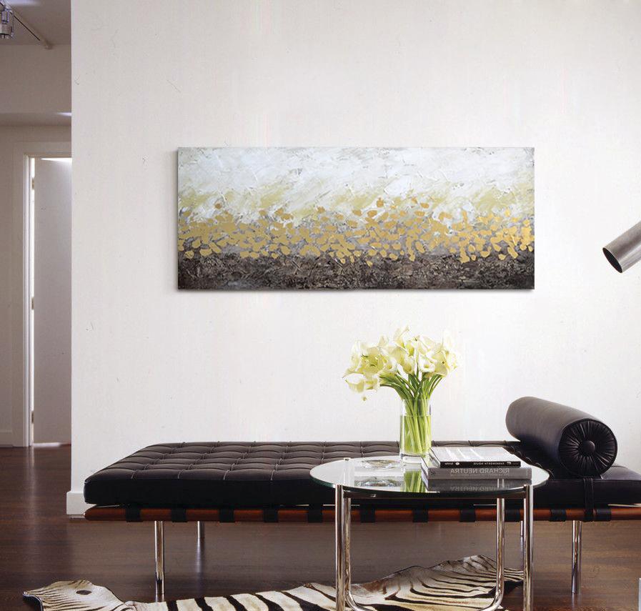 Schilderij   Golden Horizon