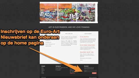 Euro-Art site ON-Line!