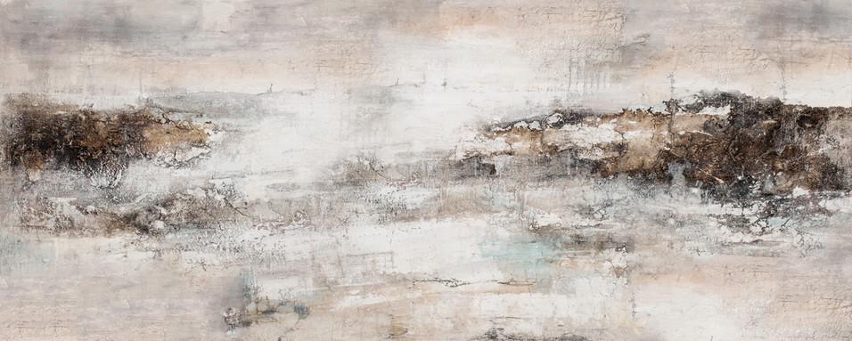 Schilderij  407730  Vision of Cercado de Lima  60x150