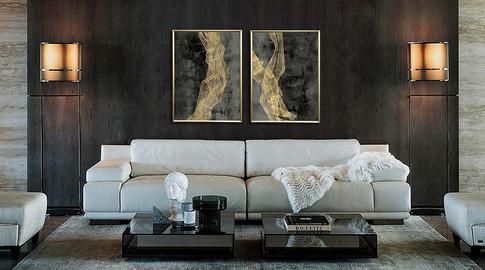 Duo Woven Matrix, Jennifer Goldberger