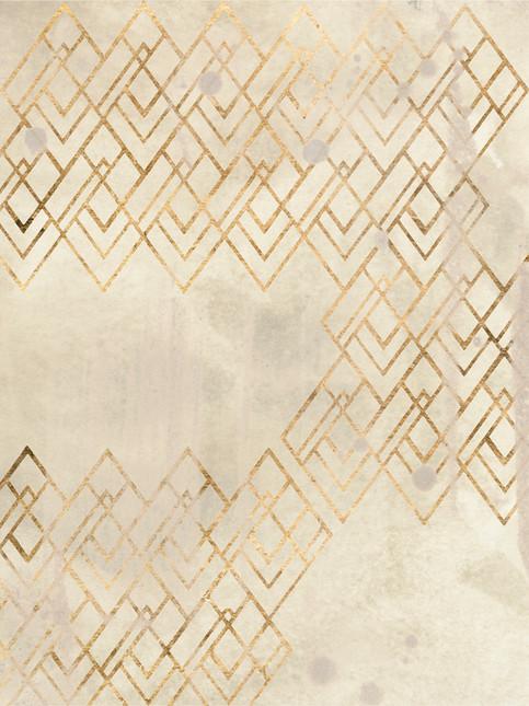 172029Z Deco Pattern in Cream IV